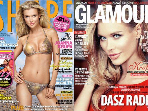 Okładki Shape & Glamour
