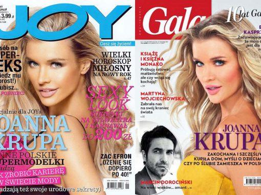Okładki JOY & Gala