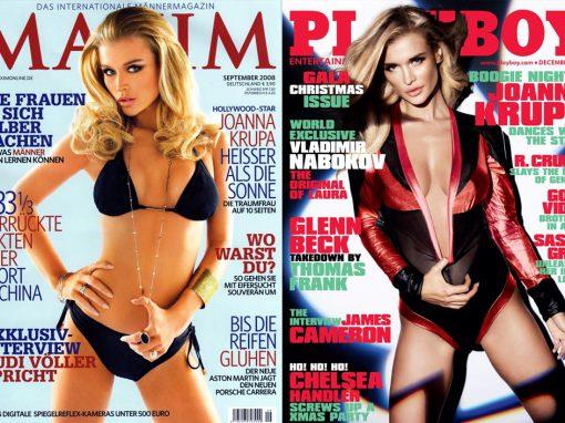 Okładki Maxim & Playboy